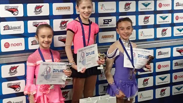 JANIČKA VALENTOVÁ obsadila  po bezchybné volné jízdě v kategorii Žačky nejmladší A  první místo.