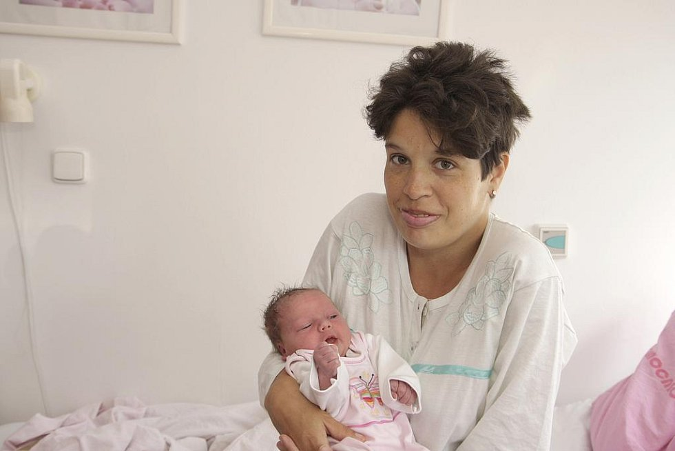 Klárka Čejková se ve středu 21.září v 7:25 hodin narodila v kadaňské porodnici hrdé mamince Markétě Kučírkové z Chomutova. Klárka po porodu vážila 3,6kg a měřila 51 cm.