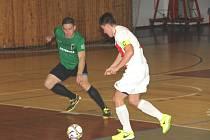 V derby chomutovských futsalových klubů tentokrát uspěl Baník.