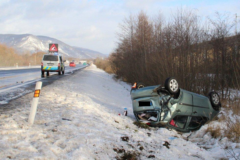 Suzuki havárie u Jirkova