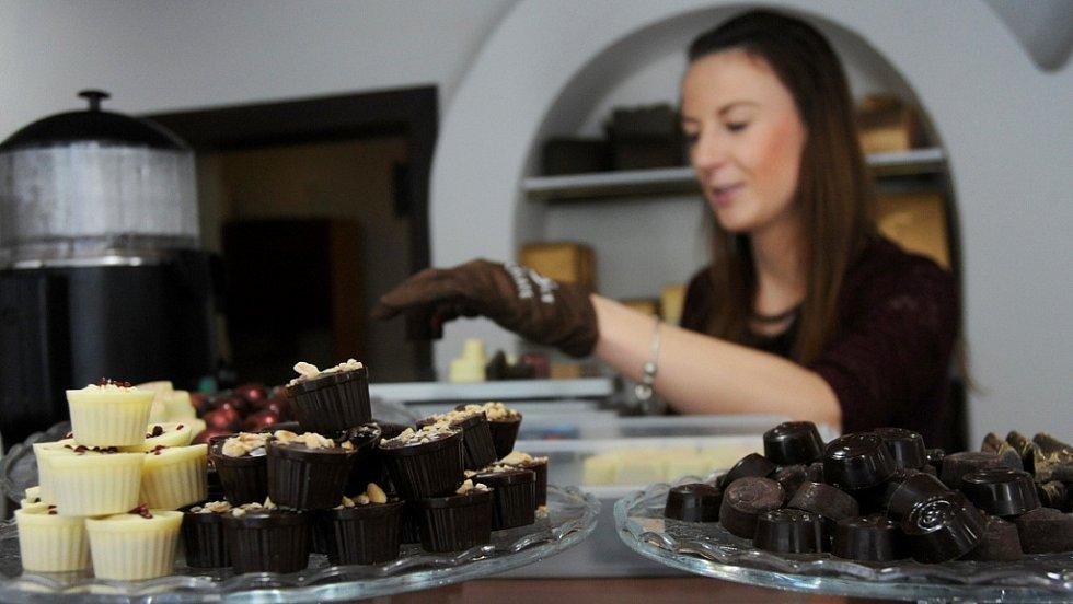 Čokolatérie v Klášterci nad Ohří