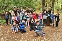 Školní družina ZŠ Kadaňská Chomutov byla v zooparku.