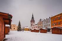 V pátek začíná v Chomutově na náměstí Vánoční trh.