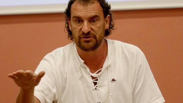 Bývalý ředitel zooparku Přemysl Rabas.