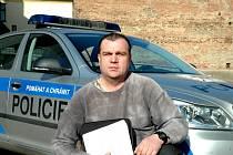 Zadržený a podezřelý Martin Tenk