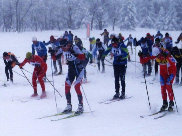 Sedmého ročníku závodu se zůčastnilo 89 lyžařů