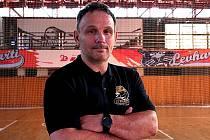 Nový trenér Levhartic Tomáš Pavelka.