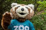 Zoopark Chomutov představil svého maskota.