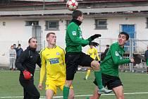 FC Chomutov v zeleném podlehl v přípravě 1:4 Varnsdorfu
