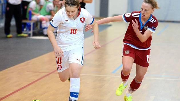 Ruský futsalový tým v Kadani zdolal naší reprezentaci