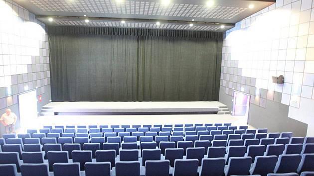 Velký kinosál. Malý je v podstatě stejný, jen s nižší kapacitou.
