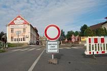 TUDY NE. Vinařická ulice je od pondělí uzavřená