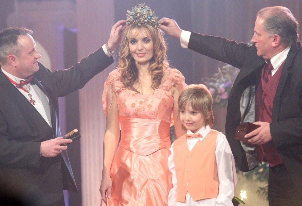 1. místo si vydobyla krásná Radana Vozňáková s malým Danielem z Rychvaldu.
