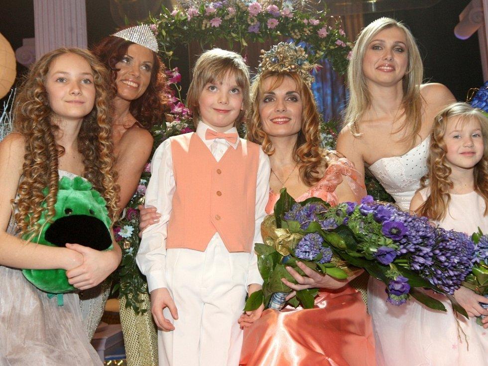 1.místo Radana Vozňáková s Danielem z Rychvaldu, 2.místo Iveta Hennetmairová s Viktorií ze Štěpánova u Olomouce a 3.místo Lucie Hlinovská s Valerií z Chomutova