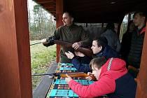 Studenti Gymnázia Kadaň na lesnické soutěži YPEF.