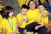 Žáci z Palachovky prožili den plný medailí