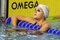 Štěpánka Šilhanová plavala na prvním úseku rekordní štafety.