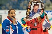 Hokejová exhibice Chomutov.