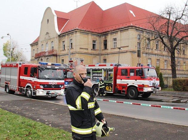V ubytovně v Chomutově hořelo.