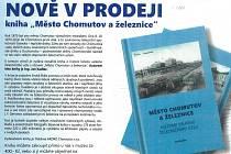 Kniha o Chomutovu a železnici.