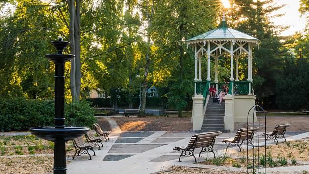 Altánek v chomutovském městském parku poslouží i ke svatbám.