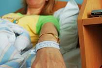 NÁRAMEK dostala v chomutovské nemocnici i Monika Kylíšková.