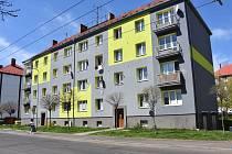 Dům v Ervěnické ulici v Jirkově.