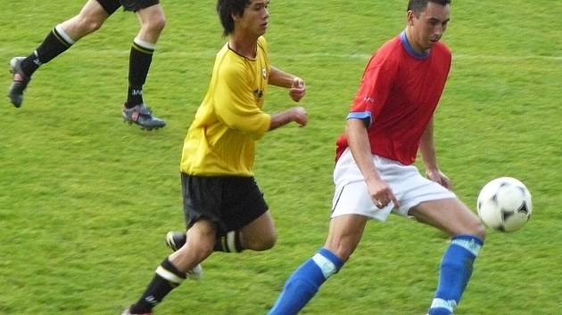 Snímek z utkání.