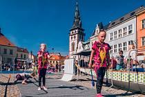 Festival sportu na náměstí 1. máje v Chomutově