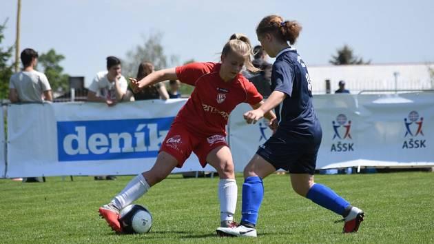 Turnaj v minifotbale, kde se nakonec radovaly týmu z východu Čech.