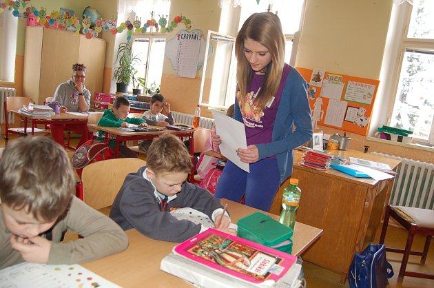 Den naruby ve vilémovské škole.