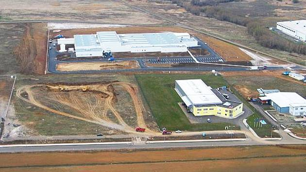Pohled na průmyslovou zónu Verne.