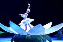 Z představení Popelka na ledě.
