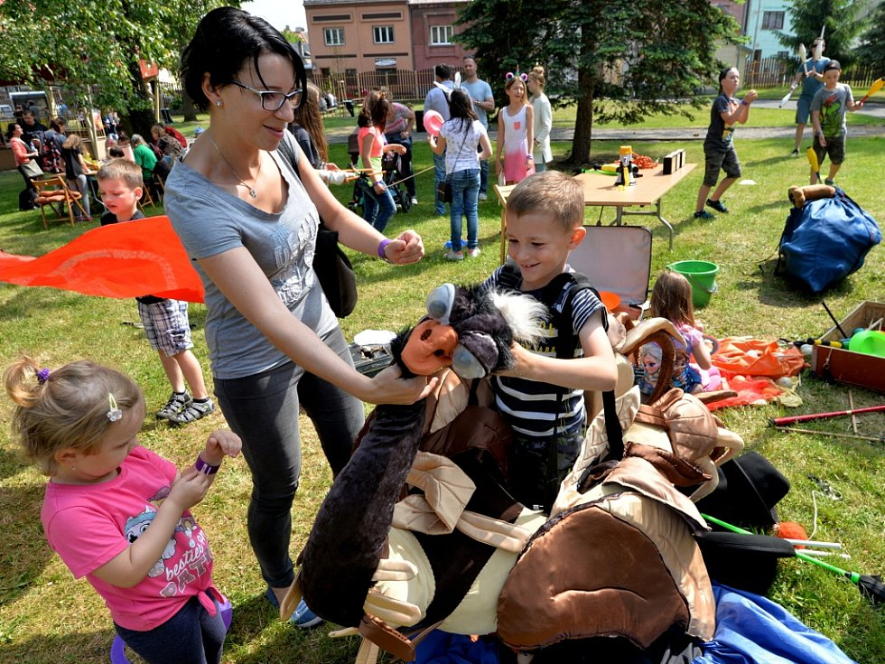 Akce Kludského zahrada v Jirkově