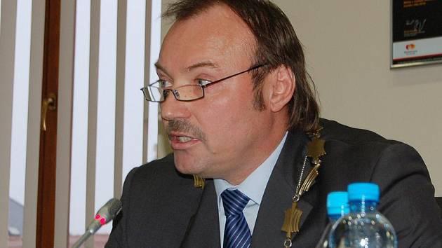 Jan Mareš, primátor Chomutova.