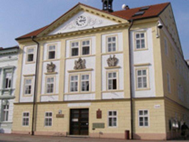 Jirkovská radnice.