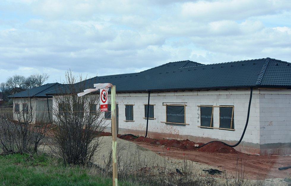 Nová výstavba v Hořenci.
