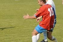 MUŽSTVO AFK LOKO CHOMUTOV ve třetím kole krajského přeboru hostilo tým Bezděkova a připsali si první výhru v této sezoně, když po gólech Vávry, Cejthamra a Tichého vyhráli 3:1.