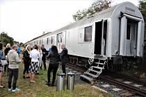 Protidrogový vlak měl ve středu 7. října zastávku v Jirkově.