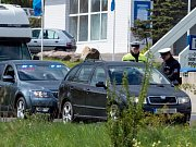 Policejní preventivní akce Speed marathon 19. dubna na Chomutovsku. Hlídky se zaměřily na dodržování maximální povolené rychlosti