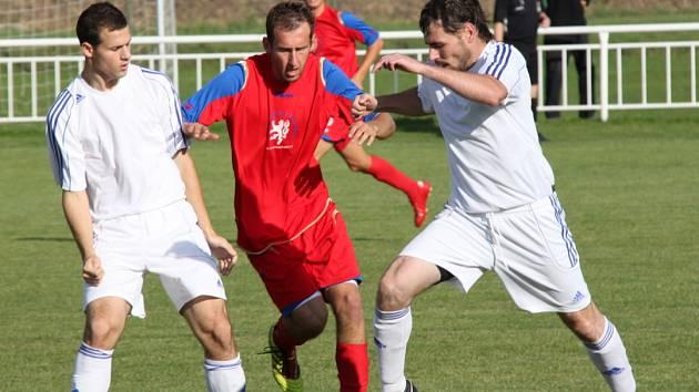 Snímek z utkání Strupčice - AFK LoKo.