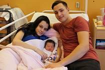 Jasmína Gáborová se narodila mamince Jiřině Gáborové a tatínkovi Evženovi Stehlíkovi z Chomutova 12. února 2019 ve 12:17 hodin. Měřila 50 cm a vážila 3,22 kg.