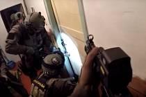 Policejní zásah na Chomutovsku