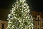 Vánoční strom v Kadani