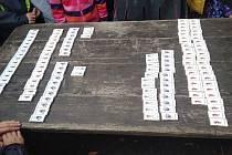 Historická hra Dobytí Chomutova husity pro žáky z Kadaňské.