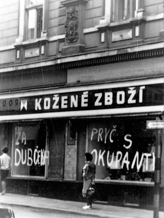 Srpen 1968, jak ho prožívali Chomutováci.