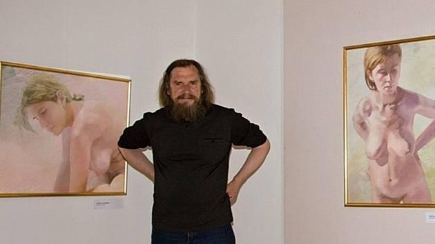 Akademický malíř Václav Zoubek a díla z cyklu Nahá těla