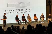 Pražští architekti ukázali, jak by se daly proměnit bývalé lázně v Chomutově.
