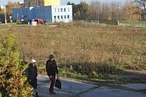 PUSTO A PRÁZDNO. Místo po zbouraném areálu kina Evropa zarůstá plevelem.