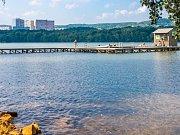 Kamencové jezero na archivním snímku
